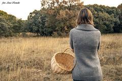 Ana (Objetivo y Pluma) Tags: people portrait autumm otoño naturaleza nature encinar palencia montes torozos