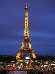 Photo de la capitale de France  PARIS   Notre belle tour effeil (Boutillier Geoffrey) Tags: tour effeil paris lumiere gx7 panasonic lumixgx7 voiture ciel bleu orange capitale town city euro2016 monument france toureffeil