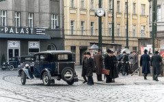 back to the past (bialobrody) Tags: 1939 past movieset the40s old film movie