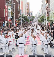 Karate Kata Guinness World Record (Travel 67) Tags: chriswillson travel67 karate okinawa japan martial arts guinness world record kata