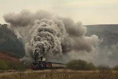 Power (feroequineologist) Tags: 76084 76038 76079 railway train steam northyorkshiremoorsrailway nymr