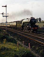 beeston v2 (midcheshireman) Tags: steam train locomotive v2 4771 greenarrow northwalescoastexpress mainline cheshire