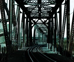 Bridge Through Time (Jayne Reed) Tags: bridges bridge kansascity metal iron