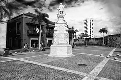 Picturesque (Ry Meehan) Tags: landscape nikon d800e beautiful statue serene marble cartagena colombia