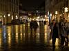 Rainy Path (H.H. Mahal Alysheba) Tags: munich münchen night rain street snapshot germany lumix gx7 leicadg summilux 25mmf14