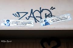 """Roma. Pigneto. Street art by ... """"Famo a capisse"""" (R come Rit@) Tags: italia italy roma rome ritarestifo photography streetphotography streetart arte art arteurbana streetartphotography urbanart urban wall walls wallart graffiti graff graffitiart muro muri streetartroma streetartrome romestreetart romastreetart graffitiroma graffitirome romegraffiti romeurbanart urbanartroma streetartitaly italystreetart contemporaryart artecontemporanea artedistrada pigneto famoacapisse poster posterart colla glue paste pasteup"""