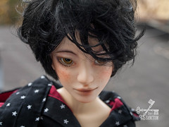 Nandi with natural faceup (eviexm) Tags: nandi eviessanctum commission faceup airbrush pastel