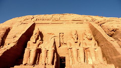 United We Stand (Eye of Brice Retailleau) Tags: icon effigy figure statue animal animals beauty colourful colours composition earth scenery scenic sculpture extérieur egypt unesco landscape stone cliff bluesky paysage pierre abusimbel abousimbel pharaoh