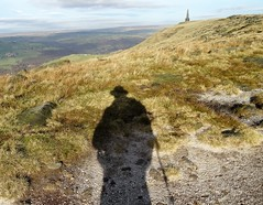 Self Portrait (backseatsnoozer) Tags: ramblers stoodley pike moor manchester yorkshire todmorden shadows