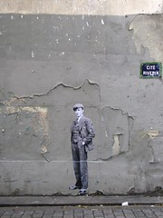 rue René Boulanger (Leo & Pipo) Tags: leopipo leo pipo paris streetart street art artwork collage urbain urban poster affiche paste pasteup wheatpaste city ville rue mure wall retro vintage sticker stencil tag graffiti france dada surreal old handmade analog
