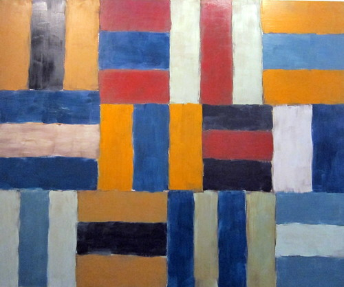 Sean Scully: Wall of Light Blue, 1999