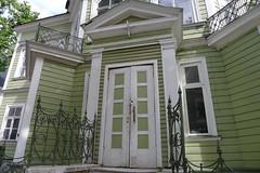 Old green house in Tallinn (EilaK: Visit my nice galleries too!) Tags: tallinn oldhouse est