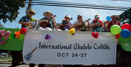 Ukulele float