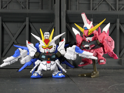 STRIKE FREEDOM & INFINITE JUSTICE