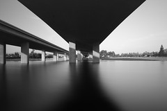 Under the overpass (Erick Castelln) Tags: longexposure blackandwhite bw bigstopper