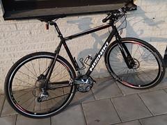 Ready to eat the dirt! (petrusko.rm) Tags: smart bike bicycle sam sony tire pro ultra tyre nishiki schwalbe hx20