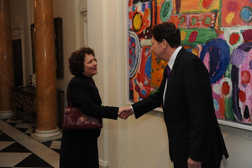 Gates  Foundation reception held at the British Ambassador's Residence