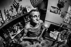 Everyday is a Cuban's Birthday (Luis Montemayor) Tags: house man home casa havana cuba oldman cuban anciano habana hombre oldhavana cubano habanavieja