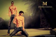 [AMARELO MANGA MEN] - COLLECTION JEANS (Luana Barzane / CEO [AMARELO MANGA]) Tags: men mesh manga collection jeans amarelo