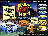 讓小猴子開心:古堡歷險(Monkey GO Happy The Castle)