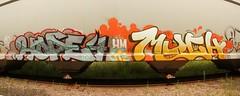 HOPE4 MUCH (The Braindead) Tags: art minnesota train bench photography graffiti painted tracks minneapolis rail explore beyond the