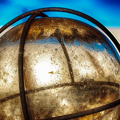 Dome Alt 2 (hbmike2000) Tags: light sky glass metal nikon rust bubbles dirty cover dome weathered d200 hdr grimy hbmike2000