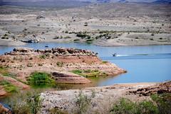 Lake Mead (Marijke Clabots) Tags: usa lake nature beautiful america boat view roadtrip lakemead roadtripusa mothernature marijkeclabots