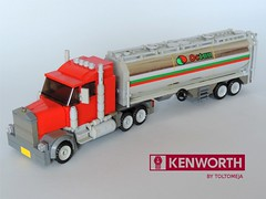 Kenworth Truck (Toltomeja) Tags: usa truck tank lego 66 historic route american kenworth foitsop
