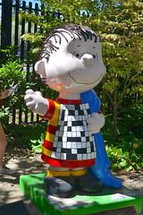 Crossword Linus (ianoak) Tags: peanuts linus charlesschulz santarosa charlesmschulz charlesmschulzmuseum schulzmuseum linusvanpelt