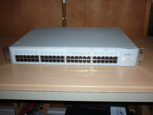 3com Switch 4300 48 Port plus Glasfaster Modul_1