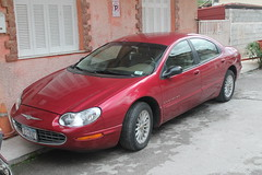 New York registered imported Chrysler Concorde LXi in Greece
