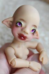 bronze_boni2 (customlovers) Tags: bronze doll tiny bjd dollfie boni apodoll