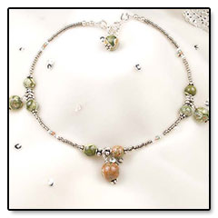 """Beaded-Anklet • <a style=""""font-size:0.8em;"""" href=""""http://www.flickr.com/photos/11654903@N04/10634862785/"""" target=""""_blank"""">View on Flickr</a>"""