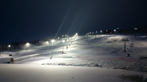 #Levi front slope right now! #Pureview #Finland #Skiing