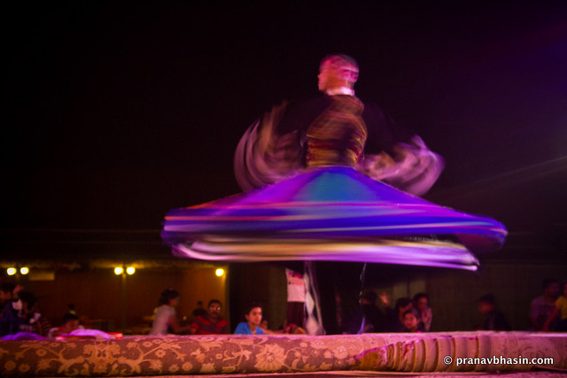Egyptian Folk Dance, Tanoura, Desert Safari, Dubai