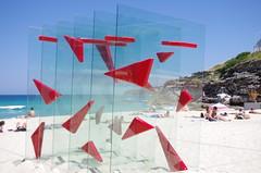 SxS 2013 - IMGP9282 (inail1972) Tags: red sculpture beach bondi sydney australia nsw publicart sculpturebythesea bondibeach tamarama tamaramabeach pentaxk5