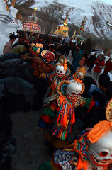 0635 The Mask Parade--Tongren , Qinghai Province , China (ngchongkin) Tags: china mask parade harmony qinghai tongren thegalaxy flickraward flickrbronzeaward heartawards earthasia artofimages wonderfulasia mygearandme goldstarawardlevel1 vivalavidalevel1 musictomyeyeslevel1 theredgroup niceasitgets rememberthatmomentlevel1 thelooklevel1red frameitlevel1 vision:outdoor=0587