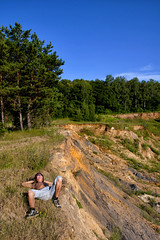 *** (Artur (RUS) Potosi) Tags: man guy forest landscape outdoor pit bathing 2011