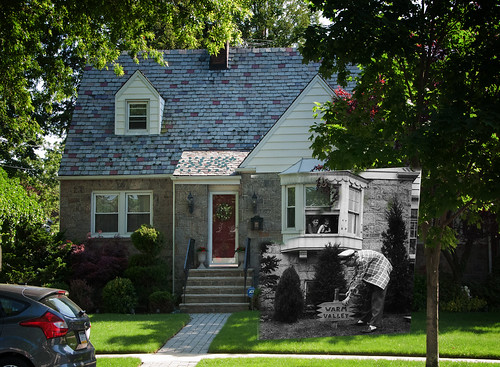 Sinatra House in 1943 and 2012