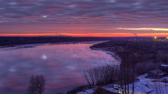 winter coming (Sergey S Ponomarev) Tags: city autumn winter light sky ice nature water night clouds sunrise canon reflections landscape dawn outdoor ngc floating rivers hdr 600d vyatka sergeyponomarev viatka сергейпономарев