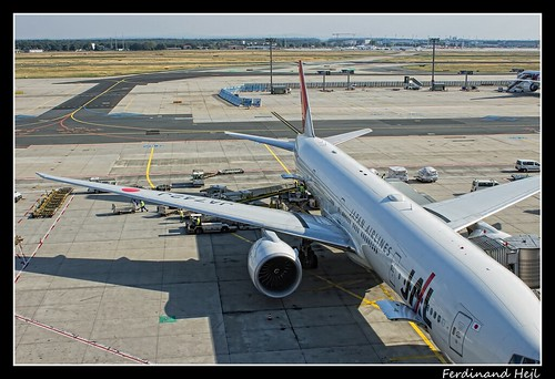 B777-346-ER_JA742J_Japan Airlines_Frankfurt - Rhein-Main International_Germany