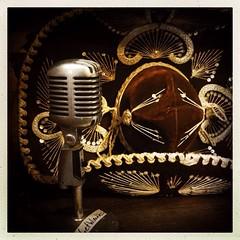 HipstaPrint - Shure 55 and sombrero (DWO630) Tags: life hat studio virginia still richmond va microphone sombrero recording rva minimum wage shure hipstamatic libatique73lens inas1982film