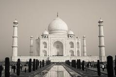 Taj Mahal in B&W