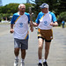Norfolk Island ex-squash player Gary Robinson and ex-athletics athlete Ian Anderson relay the Queen's Baton in Norfolk Island on Sunday 22 December 2013. Norfolk Island is nation 20 of 70 Commonwealth nations and territories to be visited by the Queen's B