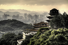 Timeless Taipei (Simong91) Tags: mountains temple chinese taiwan taipei maokong