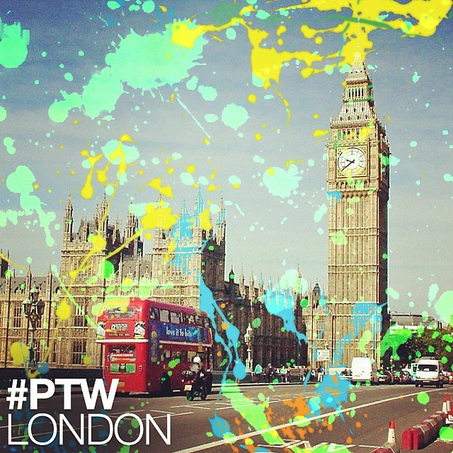 #PTW London! 4 days left before #PaintTheWorld gets out to the world!