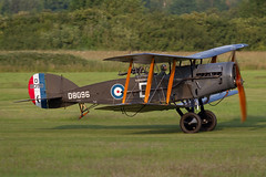 Bristol F.2b Fighter D8096 (Newdawn images) Tags: bristol airplane fighter aircraft aviation airshow f2b biplane airdisplay shuttleworthcollection oldwarden canoneos7d d8096 gaeph bristolf2bfighterd8096
