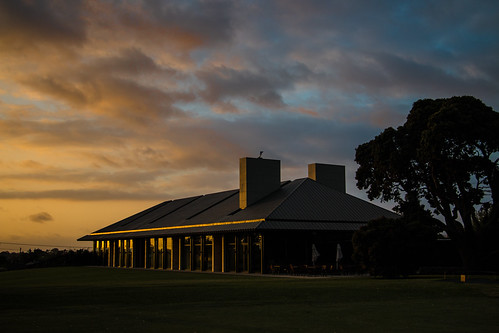 clubhouse sunset