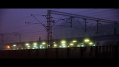 Purple sky (elkarrde) Tags: morning sky fog dawn lights purple pentax foggy railway zagreb 1750 tamron centralstation twop 175028 k20d justpentax tamronaf1750mmf28spxrdiiildasphericalif pentaxk20d pentaxart