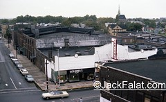 Capitol Theatre. (Gone) from the roof of The Central Theatre. (Gone) Passaic, NJ 1978. (Jack Falat) Tags: passaic nj new jersey theatre movie theater jack falat times com jackfalat carolina south island huntington beach murrells inlet pawleys georgetown sc litchfield grand strand myrtle